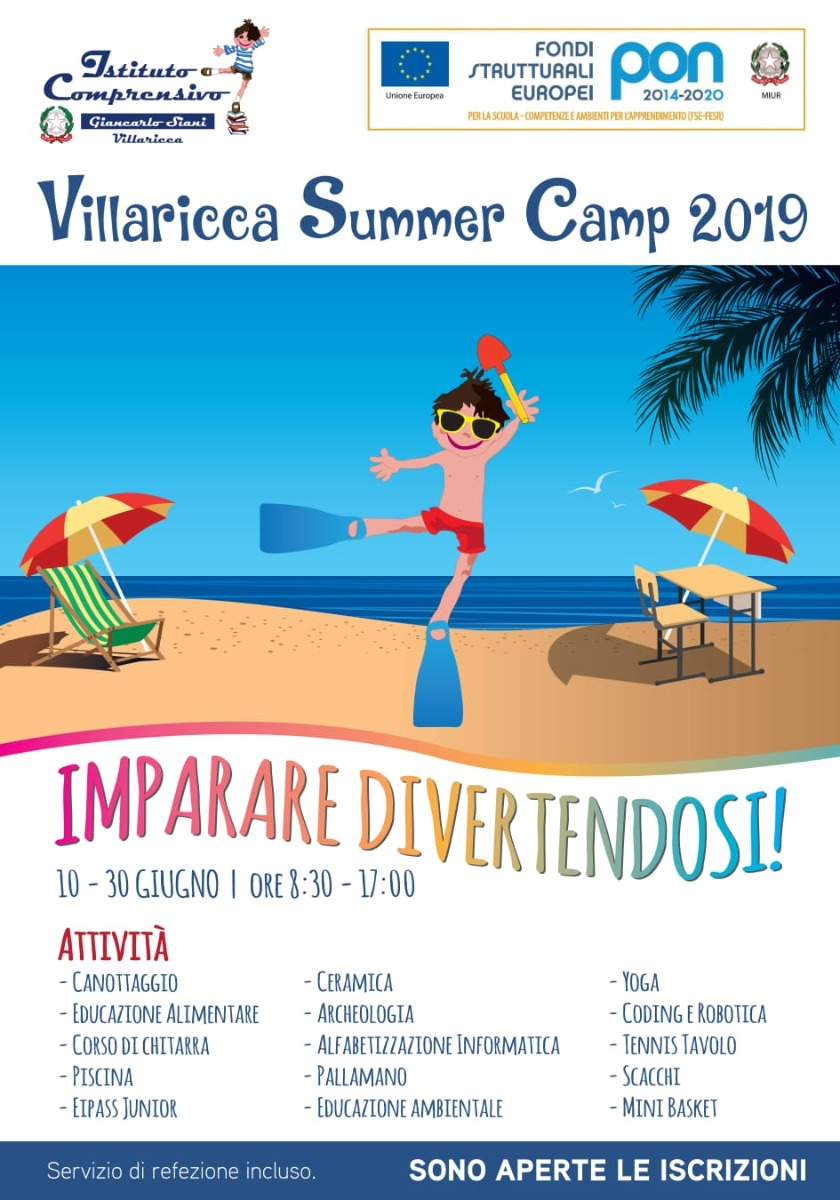 Villaricca Summer Camp 2019